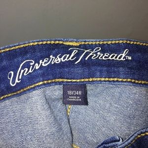 Universal Thread Jeans - Universal Thread High Rise Skinny Crop Jeans